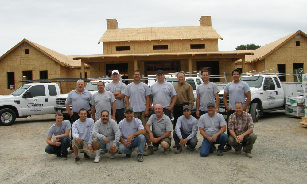 Meet The Carreiro Builders Team